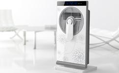 韩国冷暖两用空调扇设计